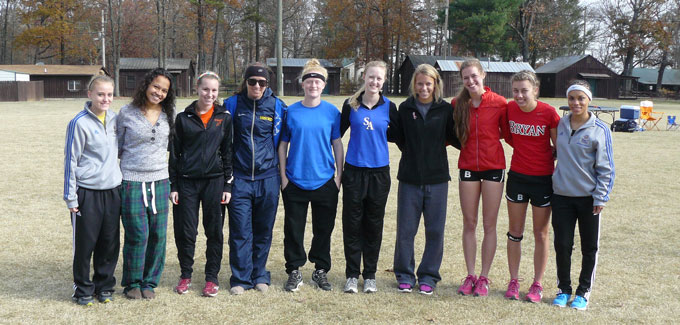2012 AAC Women's Cross Country All Freshman Team