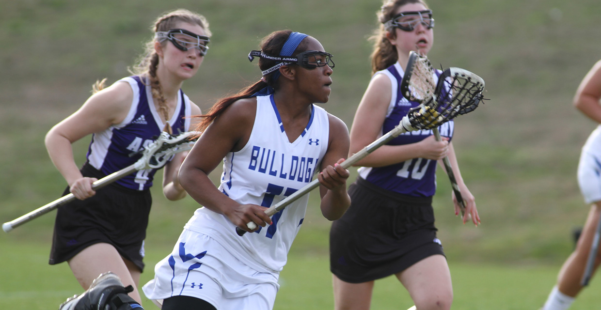 Photo for Lady Bulldog Lacrosse moves up one spot