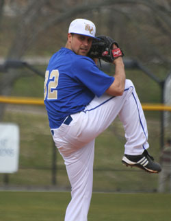 Josh Culler struck out nine and got the win in 2nd game