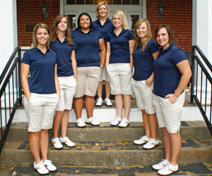 2009-10 Lady Bulldog Golf Team