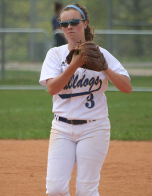 Hannah Smith gets 2 hits including a double and 2 RBIs
