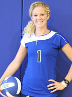 Rachele Moretto contributed 11 kills to the Lady Bulldogs win